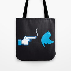 UNSOCIAL NETWORK Tote Bag