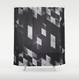 dyy blyckk fryydyy Shower Curtain