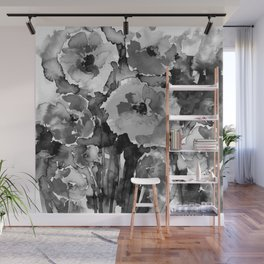 Floral Enchantment No.17D by Kathy Morton Stanion Wall Mural