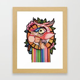 Diablada Framed Art Print