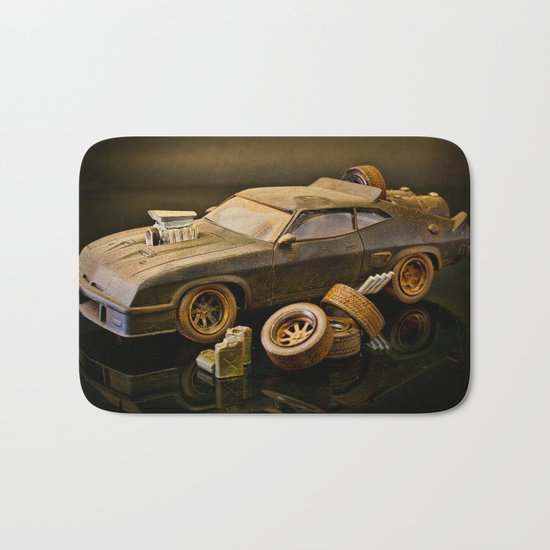 Mad Max Interceptor Bath Mat