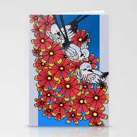 oklahoma Stationery Cards featuring OKLAHOMA by Erin L Turberville