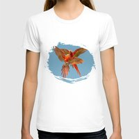 karu kara T-shirts featuring INFLIGHT FIGHT by Catspaws