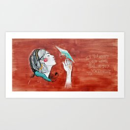 If you don't have time Art Print