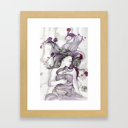 Briar Rose Framed Art Print