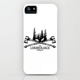 The Lumberjack Trading Co iPhone Case