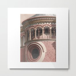 Certosa Architecutre Metal Print