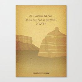 Breaking Bad - To'hajiilee Canvas Print