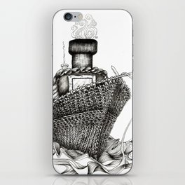Knitted Ship iPhone Skin
