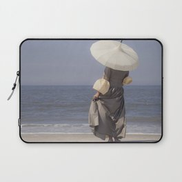 White Parasol II Laptop Sleeve