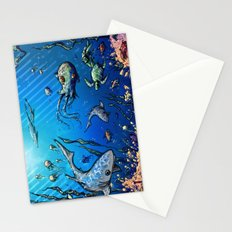 Unda da Sea Stationery Cards