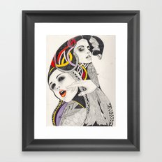 I Believe in beauty 4 Framed Art Print