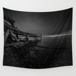 On the wrong side of the lake 6 Wall Tapestry