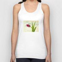 tulip Tank Tops featuring Tulip by inkedsandra