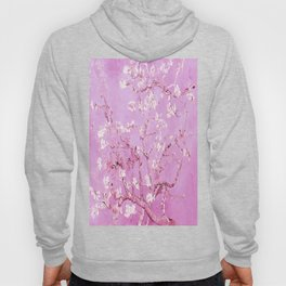 Vincent Van Gogh Almond BlossomS. Pink Lavender Hoody