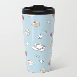 Afternoon Tea - Pretty Pattern Metal Travel Mug