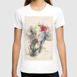 Red Headed Woodpecker T-shirt