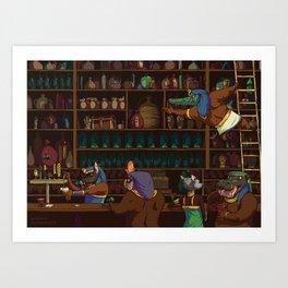 The Canopic Jar Art Print