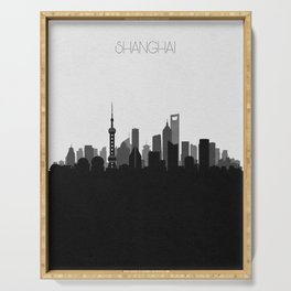 City Skylines: Shanghai Serving Tray