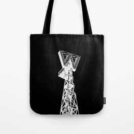 Woodwards Building in White Tote Bag