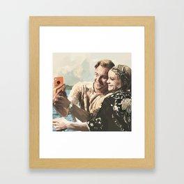 We Always Look So Cool Framed Art Print