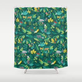 Sumatran Jungle Shower Curtain