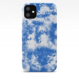 Blue Tie Dye & Batik iPhone Case