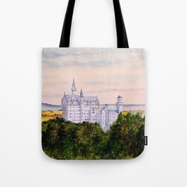 Neuschwanstein Castle Bavaria Germany Tote Bag