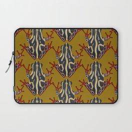 congo tree frog gold Laptop Sleeve