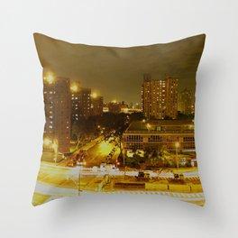 New York Skyline 2 Throw Pillow