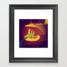 My Lovely Earth Jam  Framed Art Print