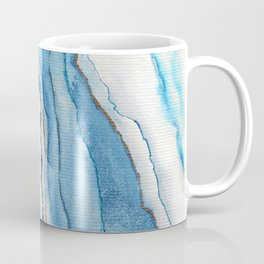AGATE Inspired Watercolor Abstract 02 Coffee Mug