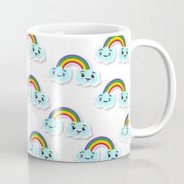 Cute Rainbow Coffee Mug