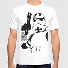 ReServoir TrOopers White Mens Fitted Tee MEDIUM