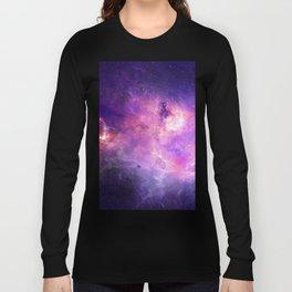 Purple space Long Sleeve T-shirt