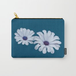 White African Daisies Carry-All Pouch