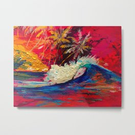 Dream surf Sumatra Metal Print