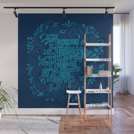 The Journey of a Thousand Miles Begins with One Step Wall Mural