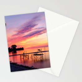 Door County Sunse Stationery Cards