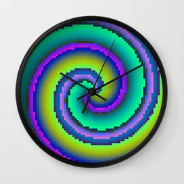 Pixelate 2.0 Wall Clock
