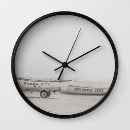 New Jersey Lifeboats Wall Clock