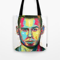 african Tote Bags featuring African by LeRoy