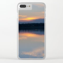 Concept : Water reflection Clear iPhone Case