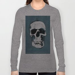 The Sherlock Skull Long Sleeve T-shirt