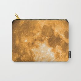 orange full moon Carry-All Pouch