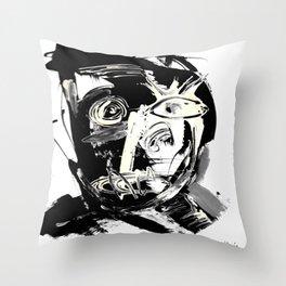 FACE EXPLOSIVE IV. Throw Pillow