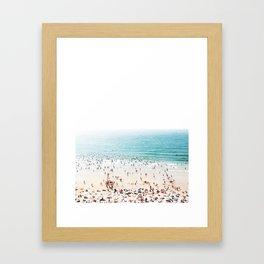 Biarritz, France #society6 #decor #buyart Framed Art Print