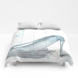blue suede shoes Comforters