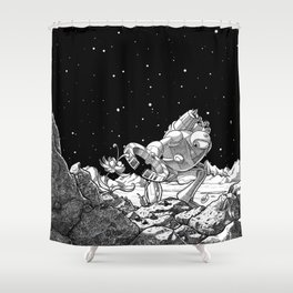 The Miner Shower Curtain