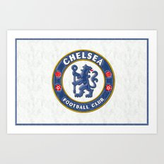Chelsea Football Club Art Print